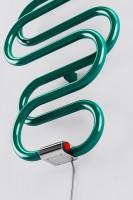 Design Elektroheizkörper Perla E, Chrom Draufsicht
