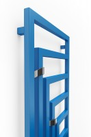 vertikaler Handtuchheizkörper Angus V, RAL 5015, frontal