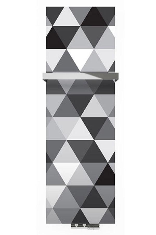 Case Slim - Glasoberfläche mit Muster