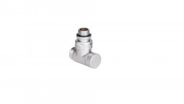 """Thermostat-Eckventil CYLINDER GZ 1/2""""-GZ 24-19 -Silber"""