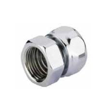 "Adapter auf Stahl HEXAGmm GW 24-19-GW 1/2"" -Silber"