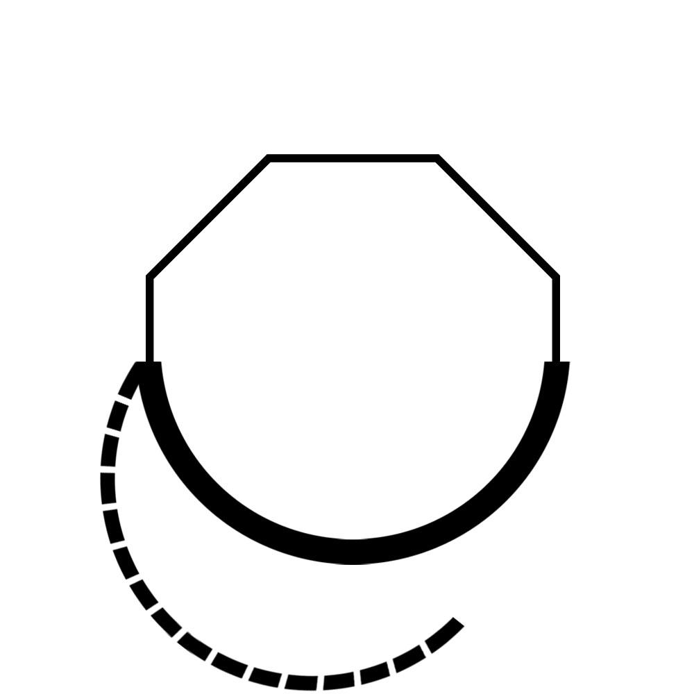 T-r-ffnung-symbolik-prisma-halbrund-nach-links