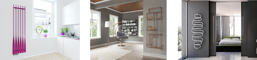 Design Heizkörper in verschiedenen Bauweisen für Ihr Zuhause