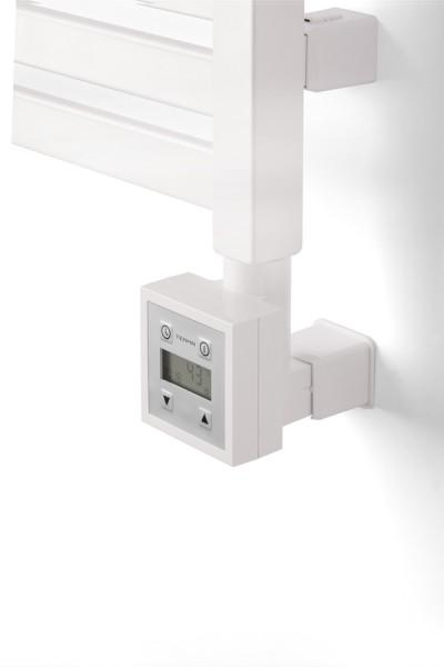 Heizpatrone KTX-3 in Weiß am Heizkörper in Weiß installiert