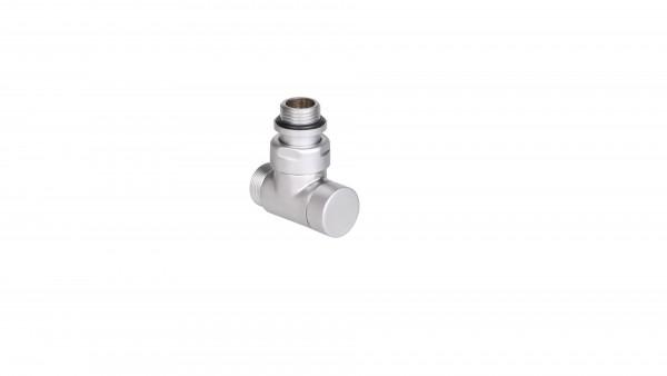 "Absperr-Eckventil CYLINDER GZ 1/2""-GZ 24-19 -Silber"