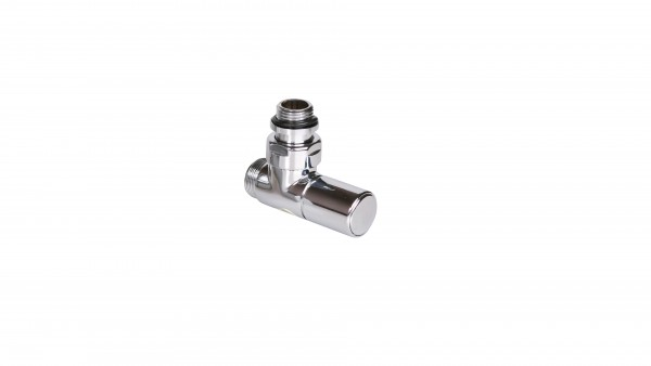 "Thermostat-Eckventil 50 mm CYLINDER GZ 1/2""-GZ 24-19 Rechts-Chrom"