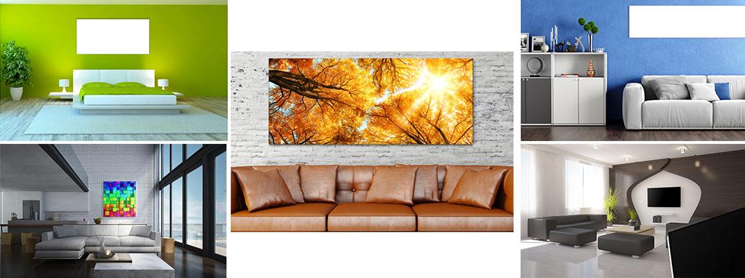Design Infrarotheizung und Infrarotpaneel an Decke und Wand, RAL Farben, Foto